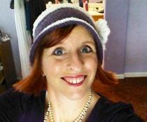 Jenny purple hat